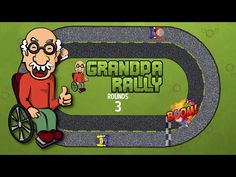 Grandpa Rally. Help crazy grandpa in this race game! Drive multiple tracks with same way or wrong way traffic. Grandpa Rally goal is simple just go ahead and swap tracks. Do not crash into angry grandpas. Make gran to be proud and run as many laps you can. If you fail then you can always retry. Easy but hard to master.