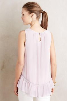 Embroidered Roselle Tank - anthropologie.com