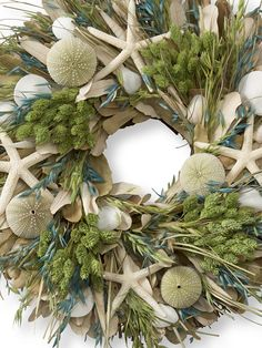 LL Bean Beachcomber's Wreath.... For my future ocean front home!!!