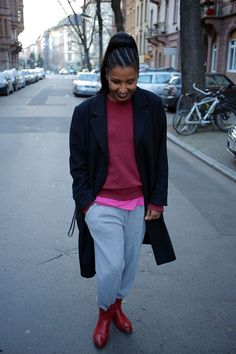 Day Sweatpants for life! Those days, when you have to leave the house and you really don't want to…. Bomber Jacket, Sweatpants, Jackets, Life, Outfits, Fashion, Sweat Pants, Trousers, Down Jackets