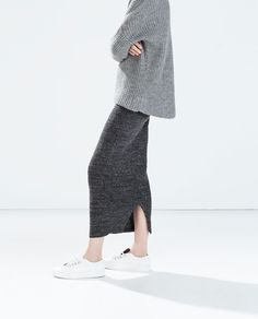 MINIMAL + CLASSIC: Casual Chic #adidas #skirt