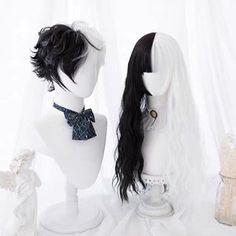 Kawaii Hairstyles, Pretty Hairstyles, Wig Hairstyles, Casual Hairstyles, Medium Hairstyles, Latest Hairstyles, Anime Wigs, Anime Hair, Cosplay Hair