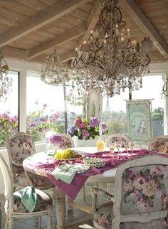 Beautiful vintage decor