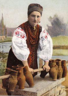 Молочниця. Українські типи і краєвиди. 1912 р. Репринтне видання.