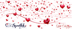Szeretlek-bögre kiterítve