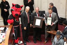 Arkansas General Assembly honors A-State Red Wolves for back-to-back Sun Belt Conference championships.