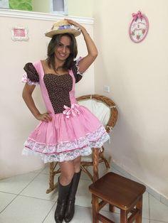VESTIDO CAIPIRA ADULTO 2015