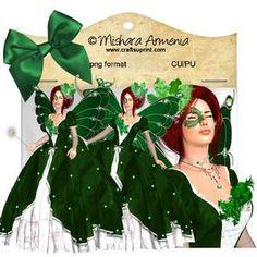 Angelique Green Rococo