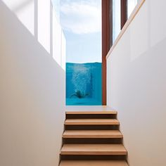 This Insignificant Life Inside Outside, Elements Of Design, Cool Pools, Cozy House, Interior Design Inspiration, Modern Architecture, Swimming Pools, Sweet Home, Stairs