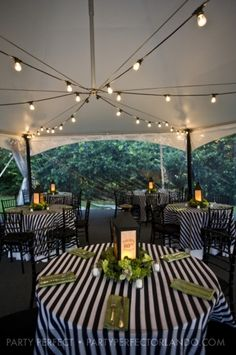 Illuminate weddings, parties and special events with our commercial grade heavy duty string lights. Find them here: http://www.lightsforalloccasions.com/p-2225-commercial-edison-string-lights-48-foot-black-wire-white.aspx