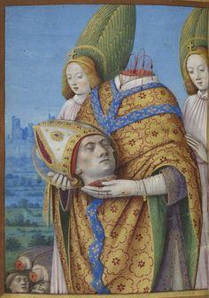 Bibliothèque nationale de France, Latin 1370 f. 212v (St. Denis). Horae ad usum Parisiensem , dites Heures de Charles VIII. 1475-1500.