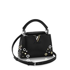 With its intriguingly small size, this Capucines Mini is the chic little bag for all occasions. Real Louis Vuitton, Louis Vuitton Store, Louis Vuitton Handbags, Women's Handbags, Little Bag, The Chic, Mini, Bucket Bag, Yves Saint Laurent