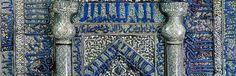 Mihrab from Masjid i Maydan 1226 Museum für Islamische Kunst: Home Kairo, Museum, Iran, Persian, City Photo, Empire, Calligraphy, Islamic Art, Mosque