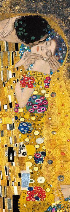 Il bacio (particolare), 1907-1908 - Klimt Gustav (1862-1918) - STAMPA SU TELA € 31,08