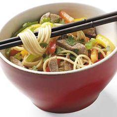 Asian Pork 'n' Peppers Recipe