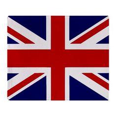 British flag throw