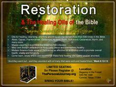 restoration-healing-oils-of-bible-14840309 by tpj365 via Slideshare