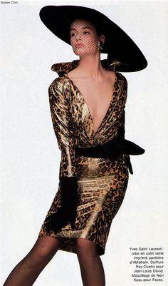 1986-87 - Yves Saint Laurent Couture Suit www.vintageclothin.com