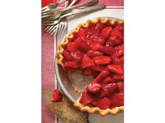 Paula Deen's Cut the Fat Old-Fashioned Strawberry Pie
