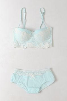 By Eloise. #anthropologie Tasteful, So-Pretty Intimates That'll Charm The ... Erm ... Pants Off Your Date! #refinery29