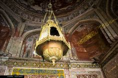 Indian Ancient Chandelier  #India, #Travel, #Photography, #Architecture