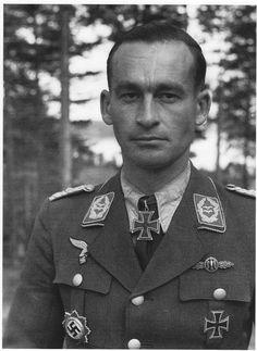 Everstiluutnantti Kurt Kuhlmey Immolassa kesäkuu 1944.