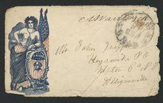 Envelope from Meeker Griffin letter :: Historic Huguenot Street