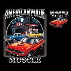 Vintage Chrysler American Made Muscle by OldSaltSailorTees on Etsy