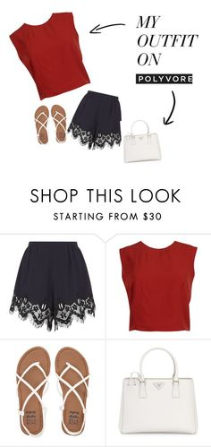 """""""Untitled #15"""" by amarah-sannicolas on Polyvore featuring Chloé, Alice + Olivia, Billabong and Prada"""