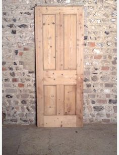 Ordinaire 535   A Victorian 4 Panel Internal Door With Parting Moulding