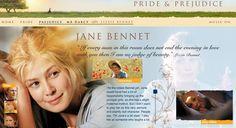 Jane Bennet's Description - Pride & Prejudice (2005) #janeausten #joewright #fanart