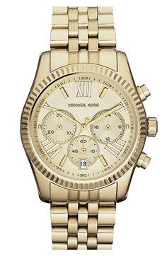 Michael Kors 'Lexington' Chronograph Bracelet Watch available at Nordstrom