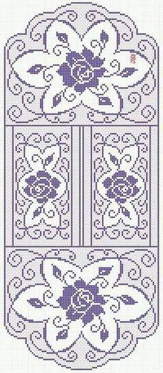 Kira scheme crochet: Scheme crochet no. 2094