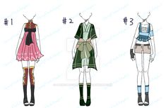 Clothings Adopt Batch-CLOSE by SpringPeachAdopts.deviantart.com on @DeviantArt