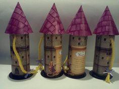 Rapunzel - Invitaciones al cumple