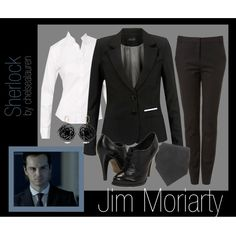 """Moriarty - Sherlock (BBC)"" by chelsealauren10 on Polyvore"