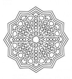 Mandala 5 Ausmalbilder