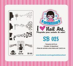 Hot Off The Stamping Press:  New Sugar Bubbles Nail Art Stamping Plates!