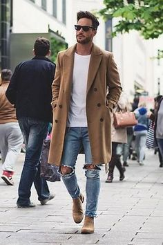 42 comfy winter fashion outfits for men in 2015 clothes moda Mode Masculine, Men Looks, Stylish Men, Men Casual, Smart Casual, Casual Chic, Casual Jeans, Boho Chic, Mode Man