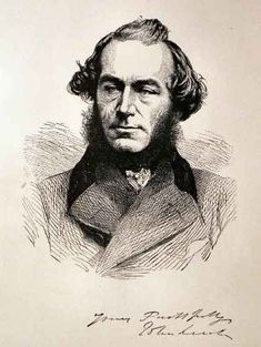 Portrait of John Leech Engraving published in Punch magazine