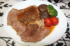 steak variation with oyster sauce