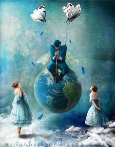 King Bristchgi (Kinga) ♂ Blue dream imagination surrealism