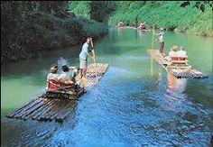 Ocho Rios, Jamaica ... Rafting Tour