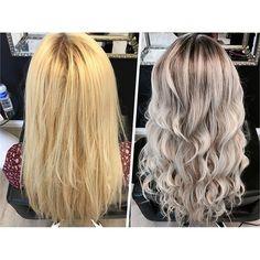 MAKEOVER: Golden To Ash Perfection - Hair Color - Modern Salon