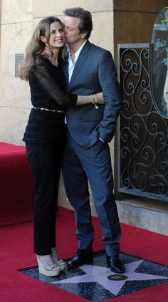 Colin Firth - Hollywood Walk of Fame ceremony 2011
