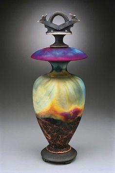 Raku Pottery by Ed Risak