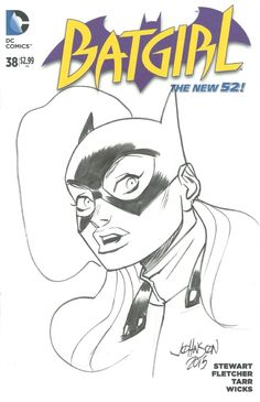 All New Batgirl by Dave Johnson *