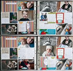 Project Life layouts & thoughts- Nisa Fiin