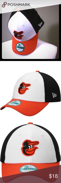 🆕 Baltimore Orioles New Era Velcro Back Hat Brand new with tags! Baseball Season! Excellent Summer O's Hat New Era Accessories Hats