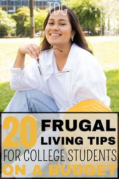 There are no better frugal living tips for college students than these ones. They are such amazing frugal living ways to save money. They are easy enough to follow. It doesn't matter how much money you have in college. You can live on very little money no matter the budget. Just follow these frugal living ideas. Frugal Living Tips, Frugal Tips, Teaching Kids Money, Money Management Books, College Life Hacks, Budgeting Tips, Way Of Life, Saving Money, Money Savers